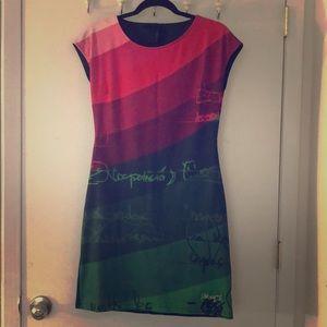 Desigual Colorblock Dress